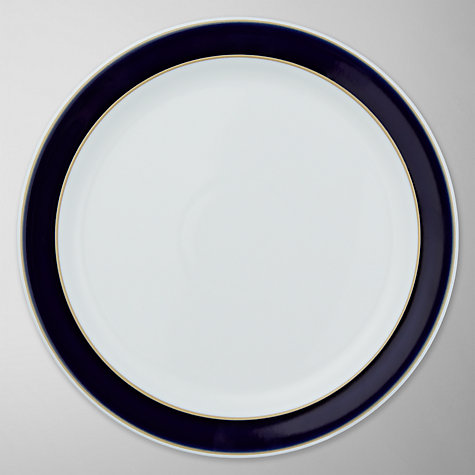 Buy Denby Malmo Dessert Plate, Dia.23cm, Blue/ White Online at johnlewis.com