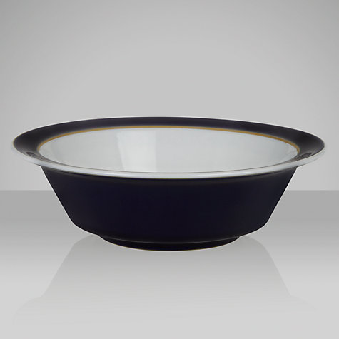 Buy Denby Malmo Soup/ Cereal Bowl, Dia.18cm, Blue/ White Online at johnlewis.com