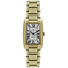 Buy Dreyfuss & Co Women's Seafarer Stainless Steel Rectangular Watch Online at johnlewis.com