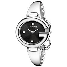 Buy Gucci Women's Guccissima Stainless Steel Bracelet Watch Online at johnlewis.com