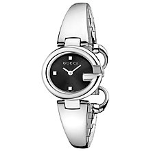 Buy Gucci YA134503 Women's Guccissima Stainless Steel Bangle Watch Online at johnlewis.com