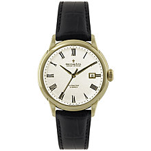Buy Dreyfuss & Co Men's Seafarer Automatic Leather Strap Watch Online at johnlewis.com