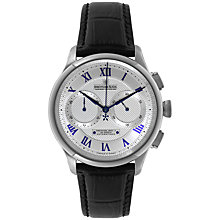 Buy Dreyfuss & Co DGS00094/21 Men's Seafarer Chronograph Watch, Black / Silver Online at johnlewis.com