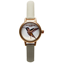 Buy Olivia Burton Women's Woodland Animal Leather Strap Watch Online at johnlewis.com
