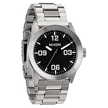 Buy Nixon Men's The Private Stainless Steel Bracelet Strap Watch Online at johnlewis.com