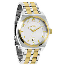 Buy Nixon Unisex The Monopoly Gold Plated Stainless Steel Watch Online at johnlewis.com