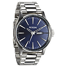 Buy Nixon Men's The Sentry Stainless Steel Bracelet Strap Watch Online at johnlewis.com