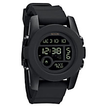 Buy Nixon Men's The Unit 40 Polycarbonate Digital Chronograph Watch Online at johnlewis.com