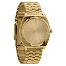 Buy Nixon Unisex The Time Teller Tonneau Stainless Steel Watch Online at johnlewis.com