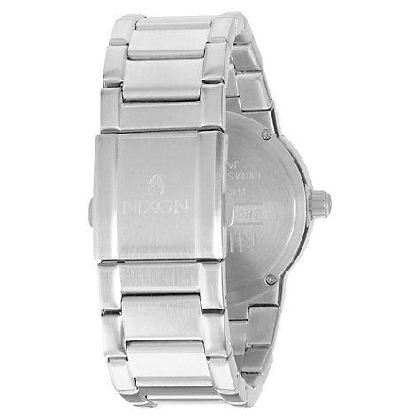 Buy Nixon Men's The Cannon Stainless Steel Bracelet Strap Watch Online at johnlewis.com