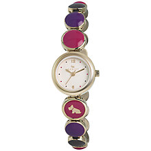 Buy Radley RY4168 Women's Damson Champagne Bubble Bracelet Strap Watch, Purple Online at johnlewis.com