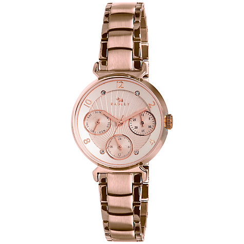 Buy Radley Women's Tapered Case Multi-Dial Bracelet Strap Watch Online at johnlewis.com