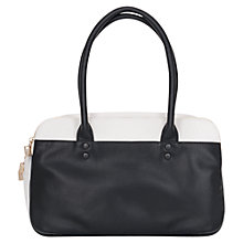 Buy French Connection Life In The Fast Lane Bag, Black/White Online at johnlewis.com