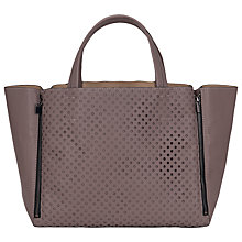 Buy French Connection Spot On Tote Bag, Taupe Online at johnlewis.com