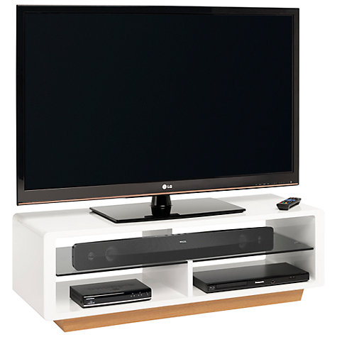 "Buy Techlink OVU115W Ovue TV Stand for up to 46"" TVs Online at johnlewis.com"