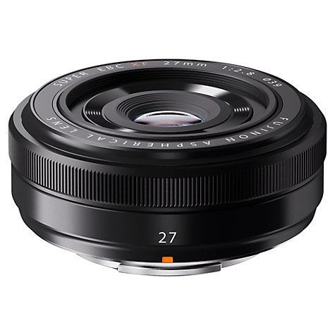 Buy Fujifilm XF27mm f/2.8 Fujinon Pancake Lens Online at johnlewis.com