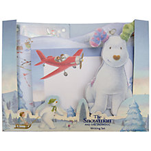Buy The Snowman Writing Set Online at johnlewis.com