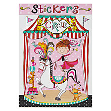 Buy Rachel Ellen Circus Stickers Online at johnlewis.com