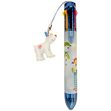 Buy The Snowman Multi Coloured Ballpoint Pen Online at johnlewis.com