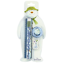 Buy The Snowman Stationery Set Online at johnlewis.com
