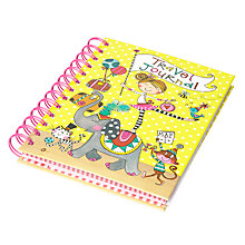Buy Rachel Ellen Girl on Elephant Travel Journal Online at johnlewis.com