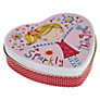 Buy Rachel Ellen Sparkly Things Heart Shaped Tin Online at johnlewis.com