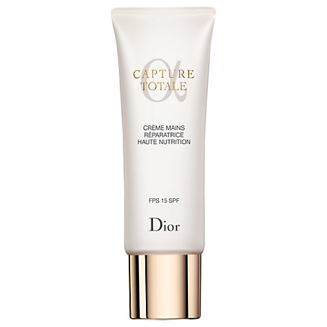 Buy Dior Capture Totale Hand Repair Cream, 75ml Online at johnlewis.com