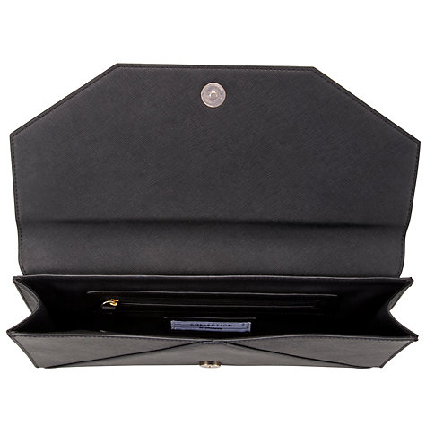 Buy COLLECTION by John Lewis Saffy Clutch Handbag, Black Online at johnlewis.com