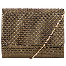 Buy COLLECTION by John Lewis Babs Clutch Handbag, Gold Online at johnlewis.com