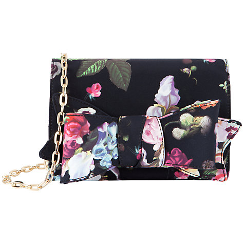 Buy Ted Baker Printed Bow Clutch Bag Online at johnlewis.com
