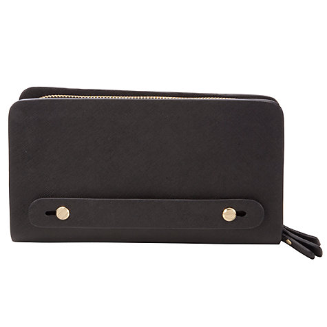 Buy COLLECTION by John Lewis Saffy Hand Held Clutch, Black Online at johnlewis.com