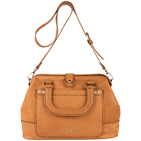 Buy Ted Baker Foxell Stab Stitch Tote Handbag Online at johnlewis.com