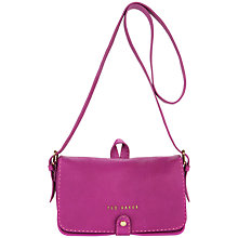 Buy Ted Baker Markun Stab Stitch Leather Across Body Handbag Online at johnlewis.com