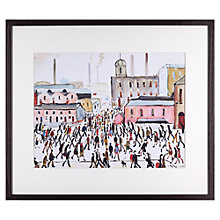 Buy L. S. Lowry - Going to Work 1959 Framed Print, 40.4 x 50.8cm Online at johnlewis.com