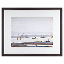 Buy L. S. Lowry - The Estuary 1956-59 Framed Print, 42 x 34cm Online at johnlewis.com