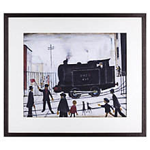 Buy L. S. Lowry - Level Crossing 1946 Framed Print, 51 x 43cm Online at johnlewis.com