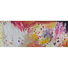 Buy Karen Birchwood - Summer Brights Print on Canvas, 40 x 100cm Online at johnlewis.com