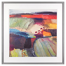 Buy Karen Birchwood - Tapestry 4 Framed Print, 79 x 79cm Online at johnlewis.com