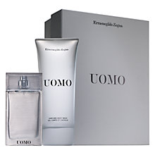 Buy Ermenegildo Zegna Uomo Eau de Toilette Fragrance Gift Set, 50ml Online at johnlewis.com