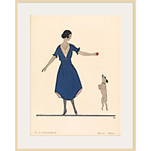 Buy The Courtauld Gallery, Gazette Du Bon Ton - No 1 1921 Hop La Print, 50 x 40cm Online at johnlewis.com