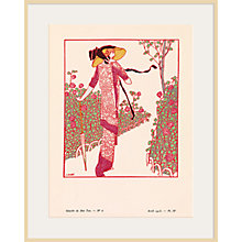 Buy The Courtauld Gallery, Gazette Du Bon Ton - No 6 1913 Une Rose Parmi Les Roses Print, 50 x 40cm Online at johnlewis.com