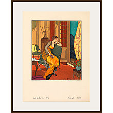 Buy The Courtauld Gallery, Gazette Du Bon Ton - No5 1913 Nocturne Print, 50 x 40cm Online at johnlewis.com
