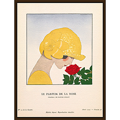 The Courtauld Gallery, Gazette Du Bon Ton – No10 1924 Le Parfum De La Rose Print, 50 x 40cm