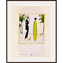 Buy The Courtauld Gallery, Gazette Du Bon Ton - No4 1914 La Matinée De Printemps Print, 50 x 40cm Online at johnlewis.com