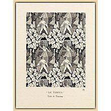 Buy The Courtauld Gallery, Gazette Du Bon Ton - No8 1920 Le Tennis Print, 50 x 40cm Online at johnlewis.com
