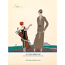 Buy The Courtauld Gallery, Gazette Du Bon Ton -  No5 1924-25 Le Cady Improvisé Print, 50 x 40cm Online at johnlewis.com