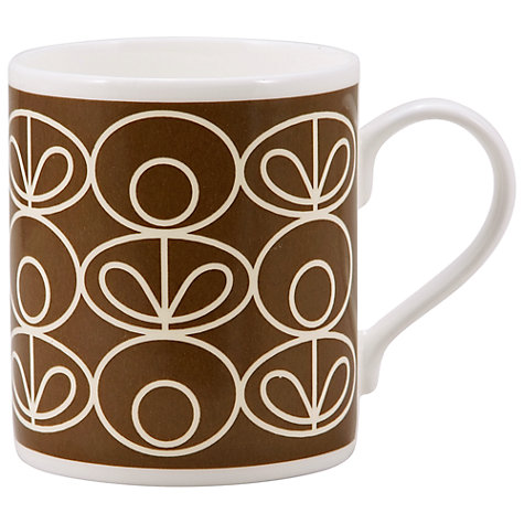 Buy Orla Kiely Linear Flower Mug Online at johnlewis.com