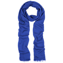 Buy Hobbs Hattie Scarf, Lapis Blue Online at johnlewis.com