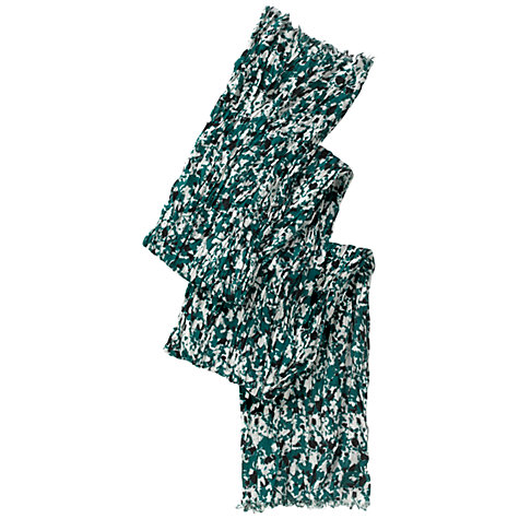Buy Whistles Celluloid Print Scarf, Green Online at johnlewis.com