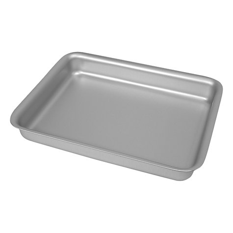 Buy Delia Online Satin Anodised Oblong Tin, L26cm Online at johnlewis.com
